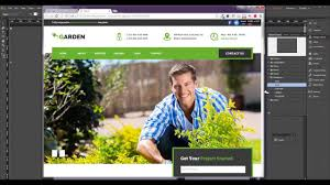 how to add a responsive slideshow in adobe muse garden template