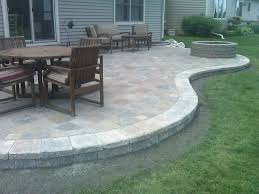 Best  Stone Patios Ideas Only On Pinterest Stone Patio - Small backyard patio design