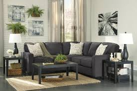 Charcoal Sectional Sofa Alenya Grey Fabric Sectional Sofa A Sofa Furniture Outlet