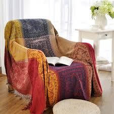 tassels ethical henna woven soft sofa blankets throws rugs sofa