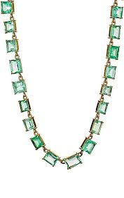 green emerald necklace images Irene neuwirth colombian emerald necklace barneys new york
