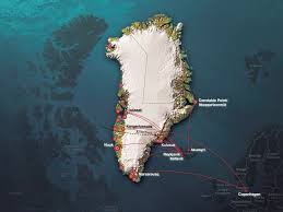 Greenland Map Plan Your Trip And Accommodation In Greenland Visit Greenland
