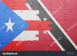 Flag For Trinidad And Tobago Puzzle National Flag Trinidad Tobago Puerto Stock Photo 374439022