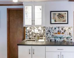 Stainless Steel Backsplash A Metal Mosaic Wall Tile Shop - Metal backsplash