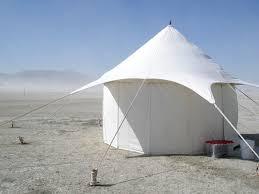 desert tent playa posh luxury living at burning wired