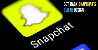 design font apk restore back the old snapchat ui design apk download