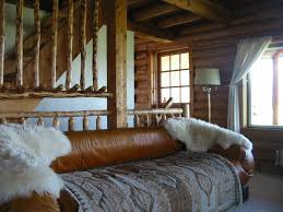 Log Cabin Interior Paint Colors by Anne Kent Cabins