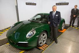 green porsche the millionth porsche 911 a very rear engined milestone by car