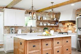 modern country kitchen with oak cabinets 20 modern farmhouse kitchen ideas for your next reno