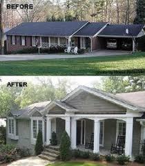 Ranch Style Home Decor Adding A Porch To A Ranch House Google Search Home Decor