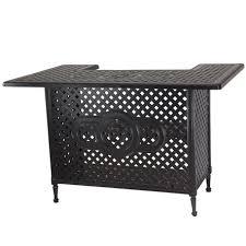 Black Cast Aluminum Patio Furniture Cast Aluminum Patio Furniture American Backyard Cast Aluminum