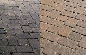 Patio Brick Pavers How To Clean Brick Clean Brick Clean Sealing Brick Pavers Simplir Me