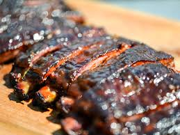 smoky and spicy apricot glazed barbecue ribs recipe serious eats