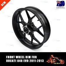 motorcycle wheels u0026 rims for ducati 848 ebay