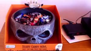 halloween candy bowls halloween candy bowl gemmy youtube