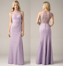 violet bridesmaid dresses lavender slim violet lace bridesmaid dresses with yoke