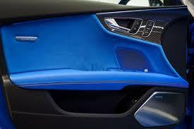 exclusive audi rs7 comes in porsche u0027s voodoo blue color