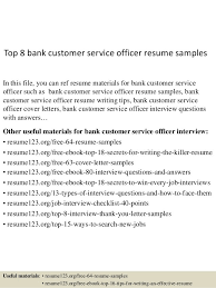 Sample Resume For Customer Service Representative In Bank by Sample Resume For Customer Service At Bank Resume Ixiplay Free
