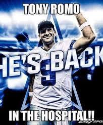 Funny Tony Romo Memes - the internet roasted tony romo with hilarious memes after he broke