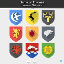 Lima Flag Game Of Thrones Houses Flat Icons By Limav On Deviantart
