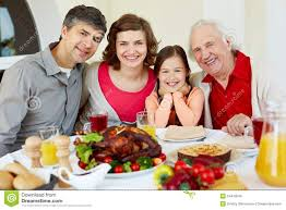 happy thanksgiving dinner thanksgiving dinner royalty free stock images image 34413549