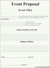 ideas collection sample proposal letter fundraising event for your