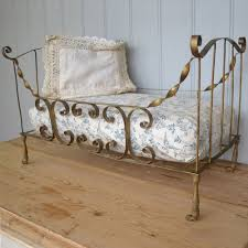 antiques atlas painted french antique vintage iron dolls daybed