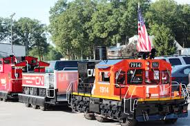 all aboard free train rides for kids on little obie