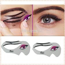 eyeliner tattoo cost dhl cat eye stencils makeup stencil eyeline models template eyeliner