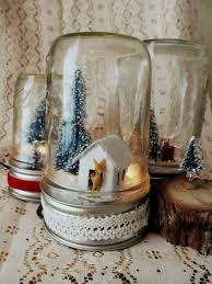 light up mason jar snow globe tutorial ily diy pinterest