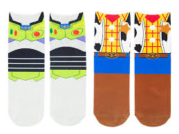 your wdw store disney socks woody buzz lightyear