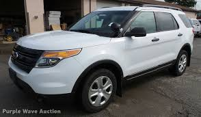 Ford Explorer 2014 - 2014 ford explorer police interceptor utility suv item j47