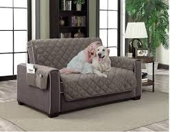 Quilted Sofa Covers Slipcover Microfiber Reversible Pet Dog Couch Protector Cover