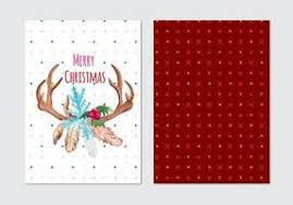 free vintage christmas tags labels vectors download free