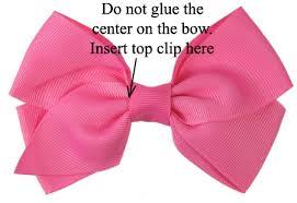 ribbon hair bow make them interchangable hair bows and headbands hip girl