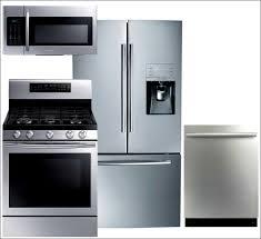 Stainless Steel Kitchen Appliance Package Deals - kitchen 4 piece kitchen appliance package stainless steel 4