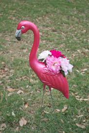 Flamingo Home Decor Make Flamingo Planters For Your Summer Decorating The M And M