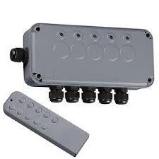 Knightsbridge Ip665g Outdoor Remote Controlled Wireless Lighting