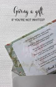 Wedding Gift Edicate Giving A Gift When You Aren U0027t Invited Southern Bride