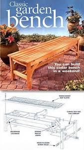 Outdoor Woodworking Project Plans by Outdoor Wood Bench Plans Outdoor Furniture Plans And Projects