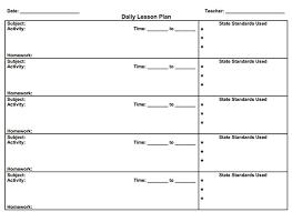 5 free lesson plan templates free u0026 premium templates