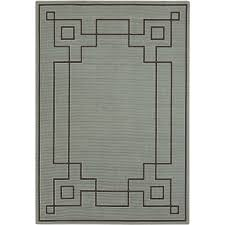 Overstock Indoor Outdoor Rugs by Art Of Knot Luxor Machine Made Greek Key Border Indoor Outdoor