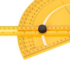 plastic protractor angle finder measure ruler goniometer sales