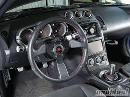 custom nissan 350z body kits 2003 nissan 350z track modified magazine