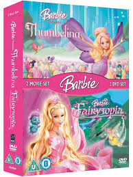 barbie thumbelina fairytopia boxset dvd amazon uk dvd