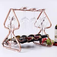 tree ornaments wine rack wine cup holder bottle wine frame