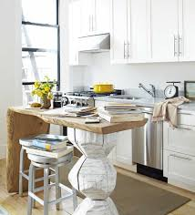 kitchen island for small space a unique small space kitchen island kitchn