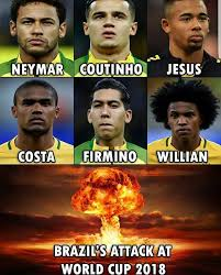soccer memes brazil s attack is going to cause mayhem facebook