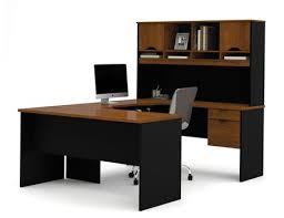 innova bureau en u en brun toscane noir walmart canada