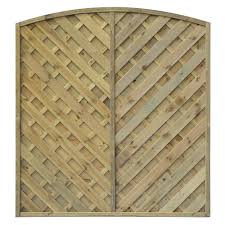 grange st lunair arched fence panel w 1 8 m h 1 8m pack of 5